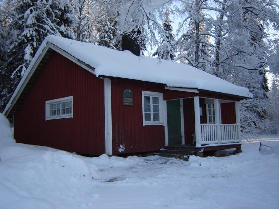 Svinsjöstugan i vinterskrud