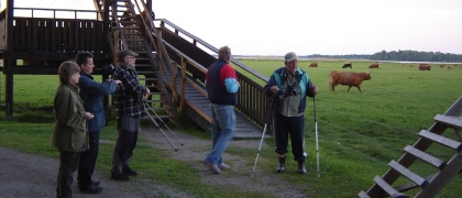 Vid Oset naturnatta 2013-06-05. Foto: Christer Persson