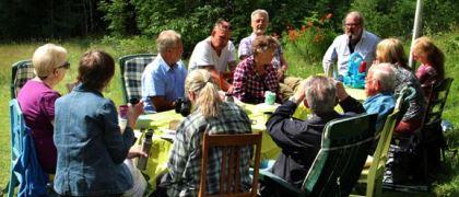 Fjärilsutflykt i sydnärke 2013-07-03. Foto: Uno Milberg