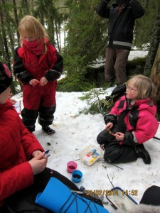 Geocaching vid Brandbergsgrottan