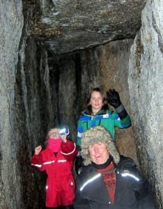 Grottmänniskor i Brandbergsgrottan