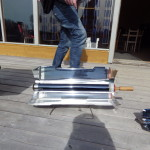 Soldriven grill. Lars F.